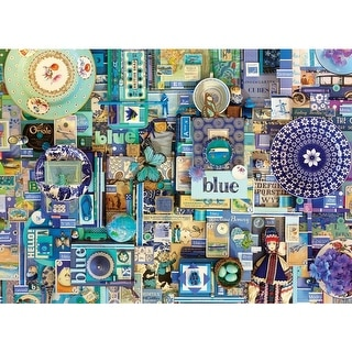 Blue, A 1000 Piece Jigsaw Puzzle by Cobble Hill