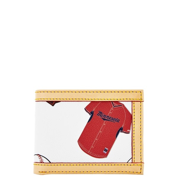 Dooney & Bourke MLB Minnesota Twins Credit Card Billfold (Introduced by Dooney & Bourke at $78 in May 2014)