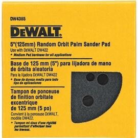 """DeWalt 5"""" Med 8-Hole Psa Pad"""