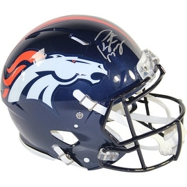 Peyton Manning Denver Broncos Signed Authentic Revolution Helmet ()