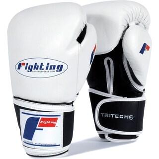 Fighting Sports Tri-Tech Boxing Bag Gloves - White