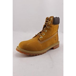 "Timberland 6"" Premium Waterproof Round Toe Leather Boot"