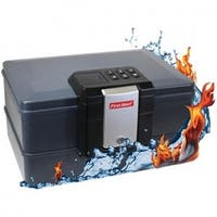 First Alert  Waterproof Fire Chest with Digital Lock - 0.39 Cubic ft.