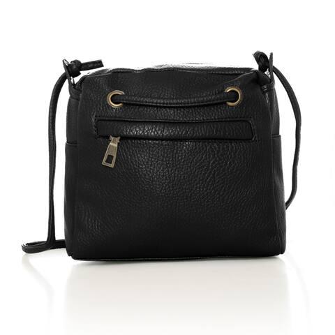 Women Mini Bag Purses Pouch Multi-Use Magnetic Crossbody Handbag - Gray