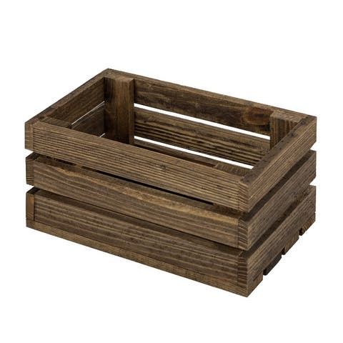 Chicory Wood Crate Shelf
