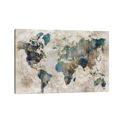 "iCanvas ""Celestial Map "" by Isabelle Z Canvas Print"