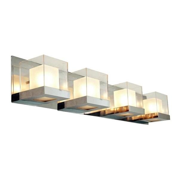 Shop DVI Lighting DVP3944 Narvik Four-Light Bathroom Fixture - Free ...
