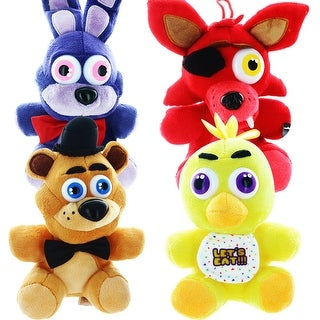 "Five Nights At Freddy's 14"" Plush, Set of 4"