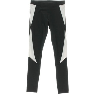 So Low Womens Colorblock Stretch Crop Leggings - XS