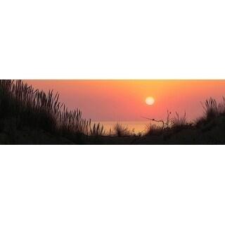 Sunset Panoramic Photograph Art Print
