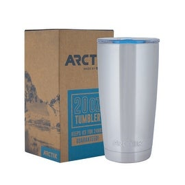 Driftsun Arctik Series 20oz Stainless Steel Tumbler with Splash Proof Lid - Double Wall Vaccum Insulated Tumbler