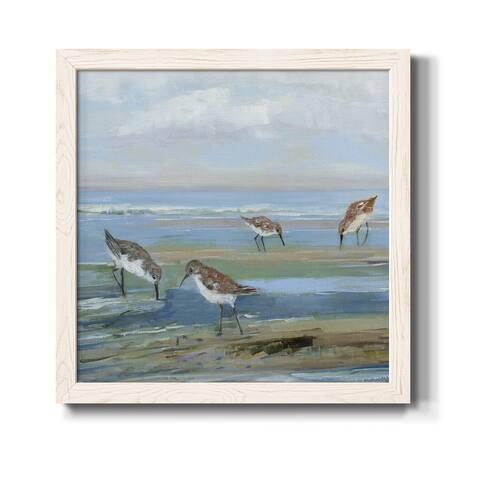 Seabird Beach III-Premium Framed Canvas - Ready to Hang