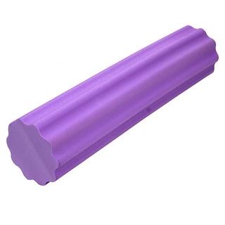 Gym Fitness Training Yoga Pilates Trigger Point Back Massage Foam Roller Purple