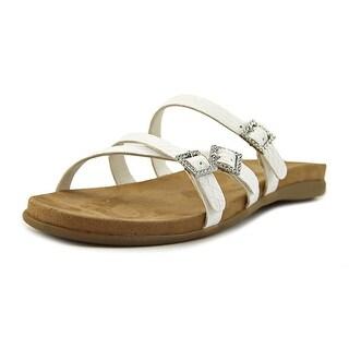 Aerosoles Disc E Business Women  Open Toe Synthetic White Slides Sandal