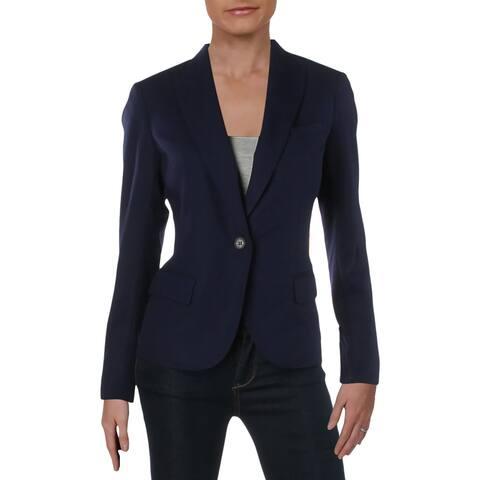 Anne Klein Womens One-Button Blazer Suit Separate Professional