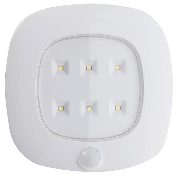 Fulcrum 30028-308  Wireless Motion Sensor LED Ceiling Light, White