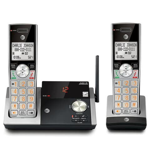 AT&TA CL82215 Two-Handset Cordless Answering System with Caller ID/Call Waiting