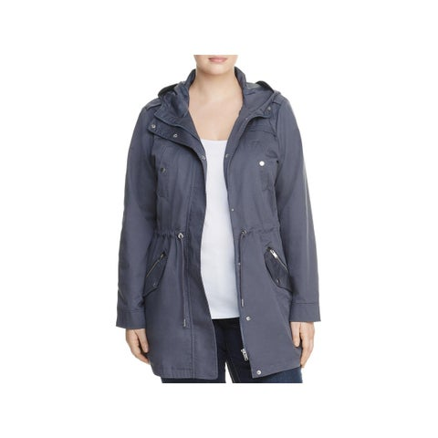 Junarose Womens Plus Parka 4 Pocket Hooded