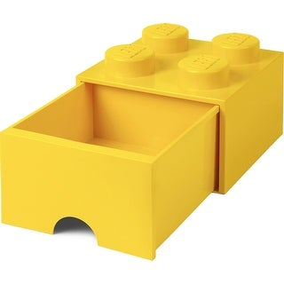 Lego Storage Brick 1 Drawer Bright Yellow - Multi