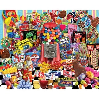 """Jigsaw Puzzle 1000 Pieces 24""""X30""""-Candy For All Seasons"""