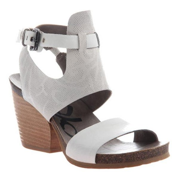 0890c9005 Shop OTBT Women s Lee Sandal White Leather - Free Shipping Today - Overstock  - 11632620