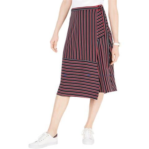 Tommy Hilfiger Womens Catalina Wrap Skirt