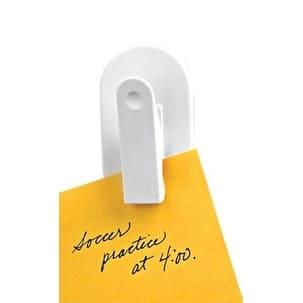 Spectrum 12100 Magnetic Plastic Clip, White