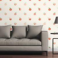 "Circle Art Group Removable Wallpaper Tile - Georgia Peach - 24"" x 48"""