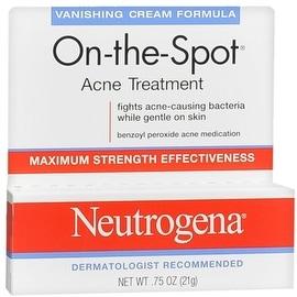 Neutrogena On-The-Spot Acne Treatment Vanishing Cream Formula 0.75 oz