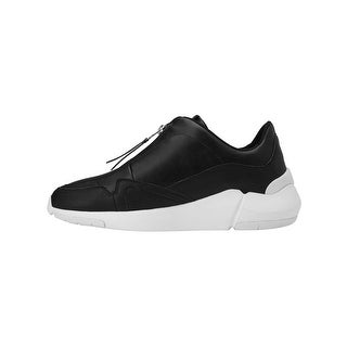Creative Recreation Womens Orena Sneakers in Black Leather (Option: 6)