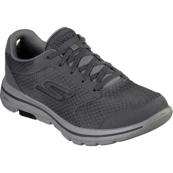 Skechers Men's GOwalk 5 Qualify Walking Shoe Charcoal/Black