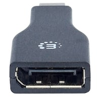 MANHATTAN 354141 Mini DisplayPort to DisplayPort Adapter MANHATTAN 354141 Mini DisplayPort to DisplayPort Adapter
