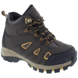 Deer Stags Boys' Drew Hiking Boot Brown