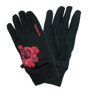 Manzella Women's Power Stretch Ultra Touch Screen Glove with Floral Print
