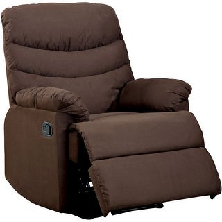 Link to The Pleasant Valley Brown Microfiber Recliner Similar Items in Living Room Furniture