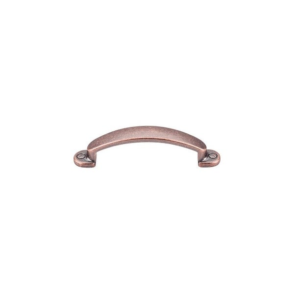 """Top Knobs M1691 Arendal 3"""" Center to Center Handle Cabinet Pull from the Somerset Series - ANTIQUE COPPER"""