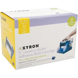 "Xyron 500 Refill Cartridge-5""X18' Repositionable"