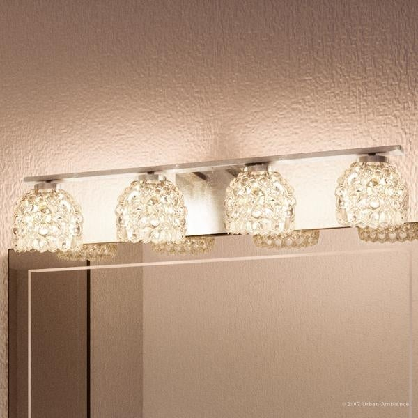 bathroom vanity lights chrome finish. Luxury Modern Bathroom Vanity Light  5 H X 27 W With Eclectic