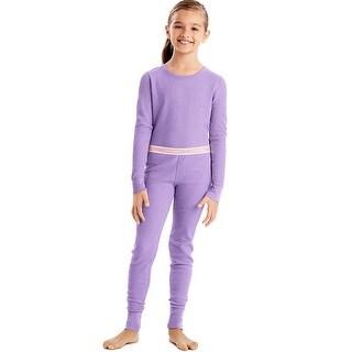 Hanes X-Temp™ Girls' Organic Cotton Thermal Set - L
