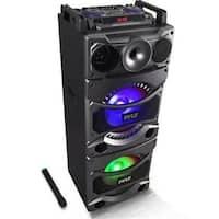 Pyle PSUFM1038BT Bluetooth PA Loudspeaker Karaoke Entertainment System