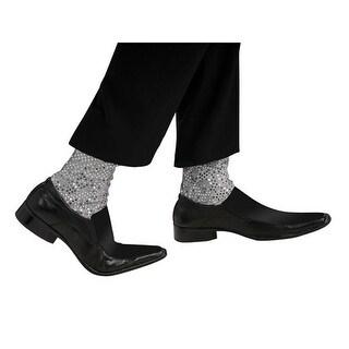 Adult Sparkle Michael Jackson Socks - Standard