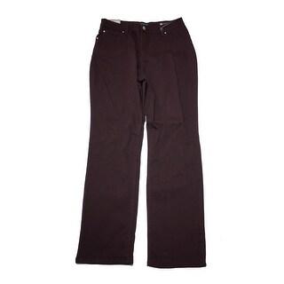 Lee Platinum Eggplant Straight-Leg Classic Jeans