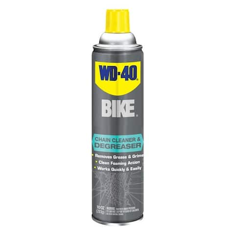 WD-40 BIKE 390241 Unscented Bike Chain Cleaner & Degreaser, 10 oz.