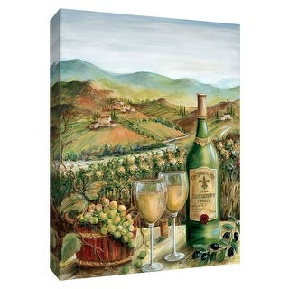 "PTM Images 9-148448  PTM Canvas Collection 10"" x 8"" - ""Vineyard View"" Giclee Fruits and Wine Art Print on Canvas"