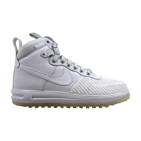 new arrival 4e681 702e8 Nike Lunar Force 1 Duckboot White White 805899-101 Men s