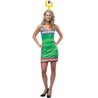 Rasta Imposta Touchdown Dress Adult Costume - Solid - one-size