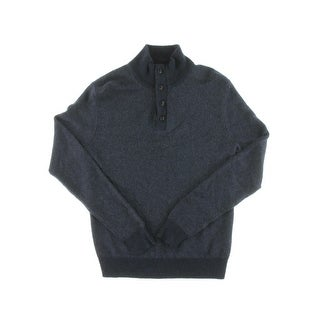 Polo Ralph Lauren Mens Henley Sweater Silk Knit