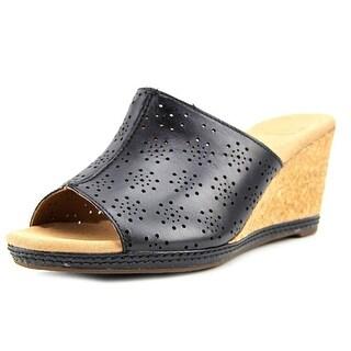 Clarks Helio Corridor Women  Open Toe Leather  Wedge Sandal
