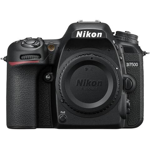 Nikon D7500 20.9MP DX-Format 4K DSLR Digital Camera (Body Only) -
