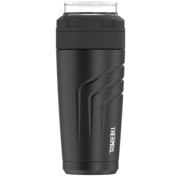 Thermos 24 oz. Vacuum Insulated Stainless Steel Wide Mouth Tumbler - Black - 24 oz.